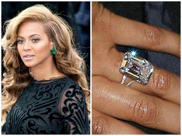Beyonce And Jay Z Make Beautiful Jewelry Beyonce Wedding Ring Celebrity Engagement Rings Wedding Rings