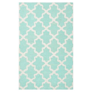 Breezy Lattice Rug Rugs Floral Rug Pottery Barn Kids