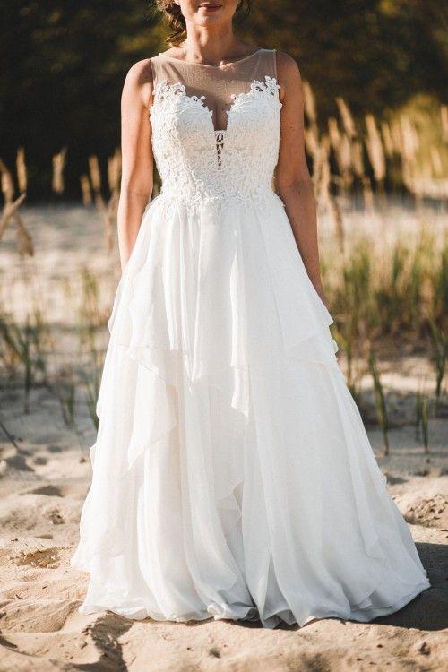 Suknia ślubna Lillian West 6449 Salon White Warszawa Używane