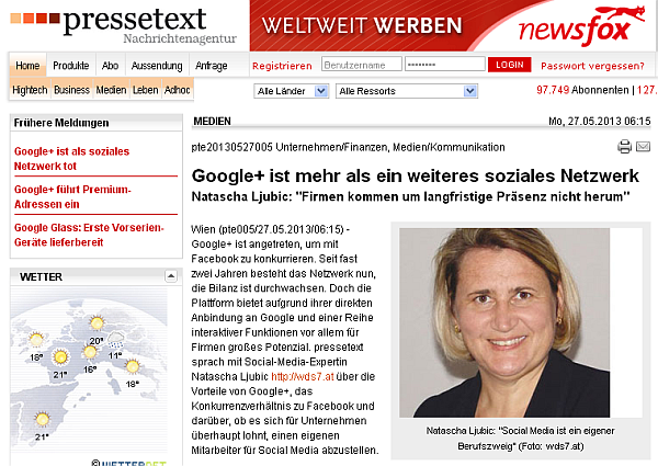 Interview: Google+ ist mehr als ein weiteres soziales Netzwerk