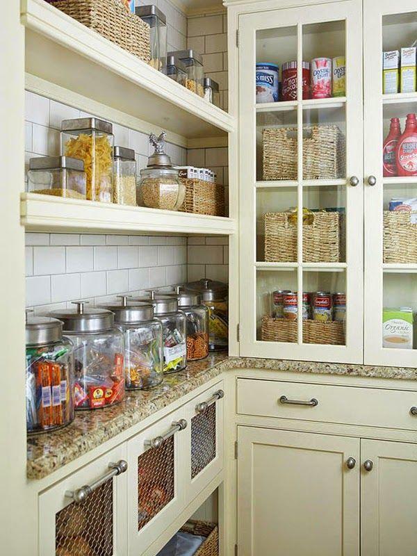 Armarios para Ahorrar el espacio en Cocinas Pequeas Cocinas