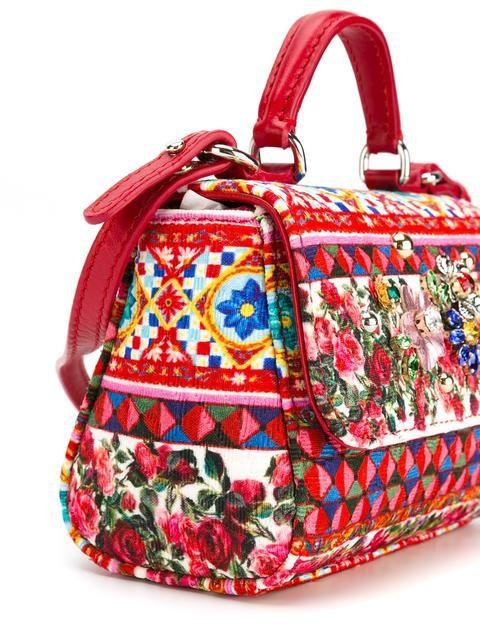 Dolce   Gabbana Kids Bolsa estampada   Acessorios   Pinterest   Bag 5dc5bf57a0