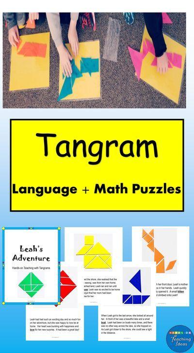 tangram math activities  math activities kindergarten
