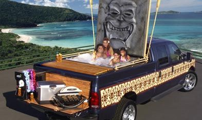 Now This Would Be An Awesome Ford Truck To Have With A Hot Tub