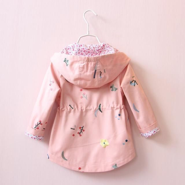 Flower Patch Baby Hoodie