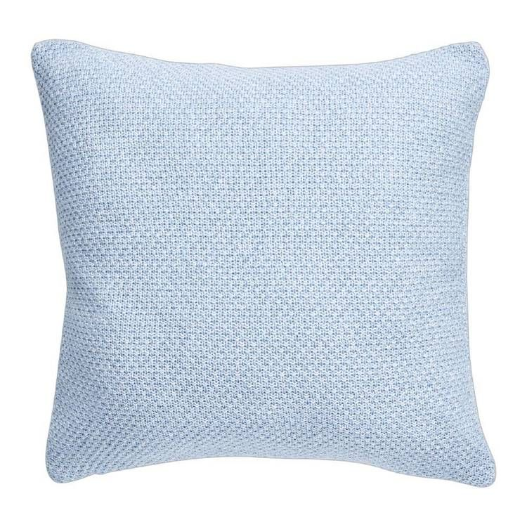 Living Space Marcel Knitted Cushion Taupe 45 X 45 Cm Knitted Cushions Living Spaces Cushions