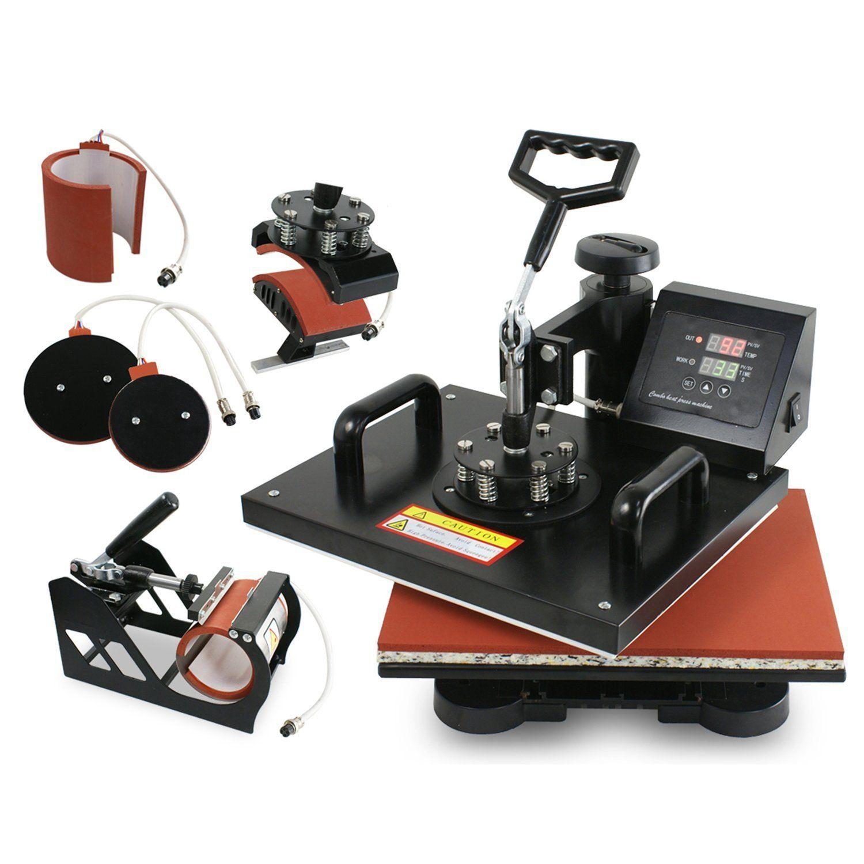 1d1900a3521 Super Deal Pro 5 in 1 Multifunction Combo Heat Press Machine