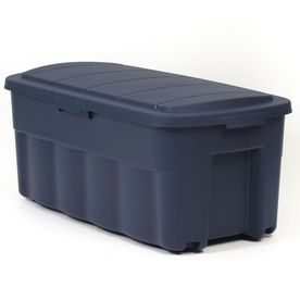 Centrex Plastics Llc Rugged Tote 50 Gallon Blue Tote With Standard