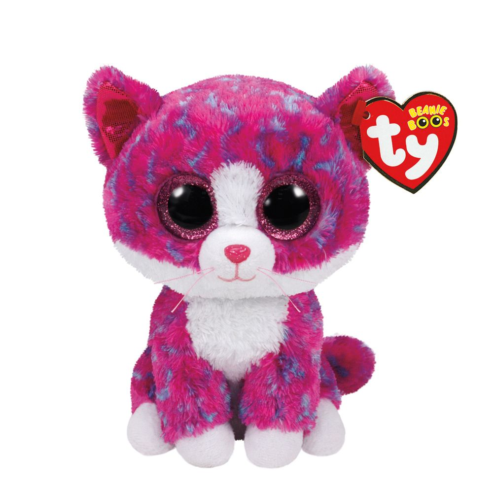 c4e610bf165 TY Beanie Boos Small Charlotte The Cat Plush Toy Claire s exclusive ...