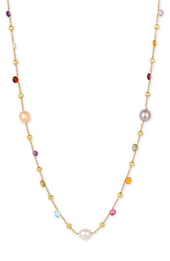 Marco Bicego 'Paradise' Semiprecious Stone Necklace available at #Nordstrom