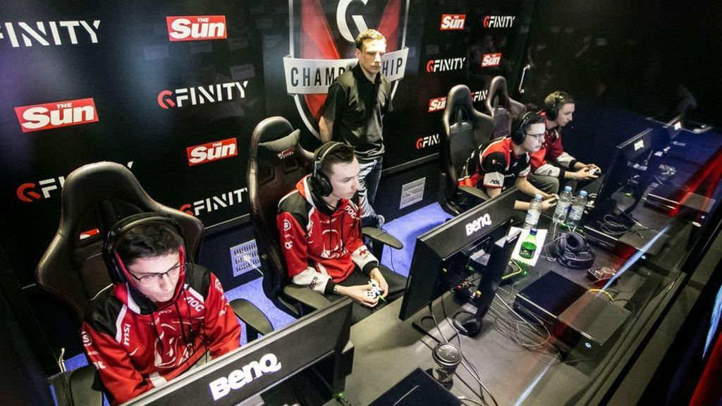 The online channel will show the Gfinity gaming tournament