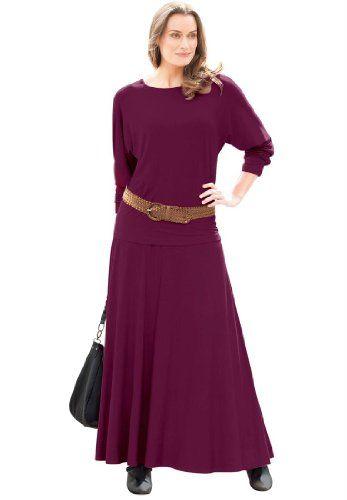 ca19da3a6bc fashionbug Plus Size Skirt Set In Stretch Jersey