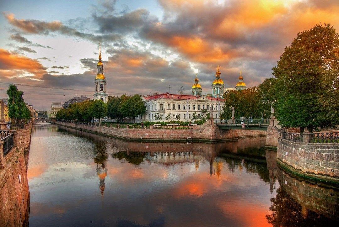 Пазл Сентябрь на Крюковском канале — собрать пазл онлайн