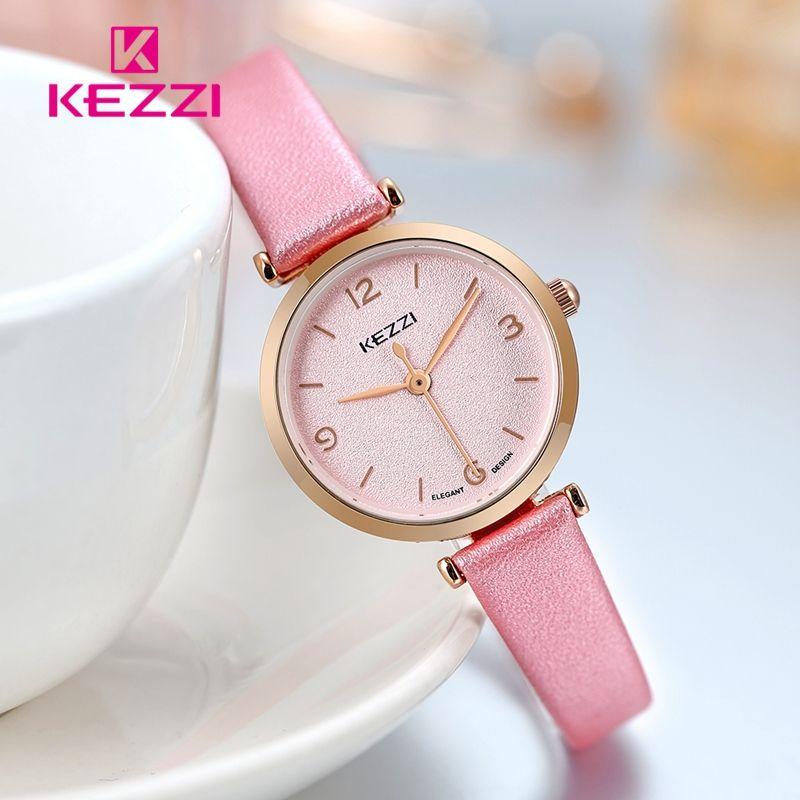 ce64a6425818 KEZZI Fashion Wrist Watch Women Quartz Watches Elegant Luxury Designer Top  Brand for Women Ladies Casual Style clock