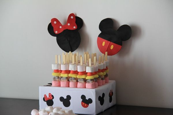 anniversaire th me mickey 4 disney minnie mouse d co pinterest theme mickey. Black Bedroom Furniture Sets. Home Design Ideas