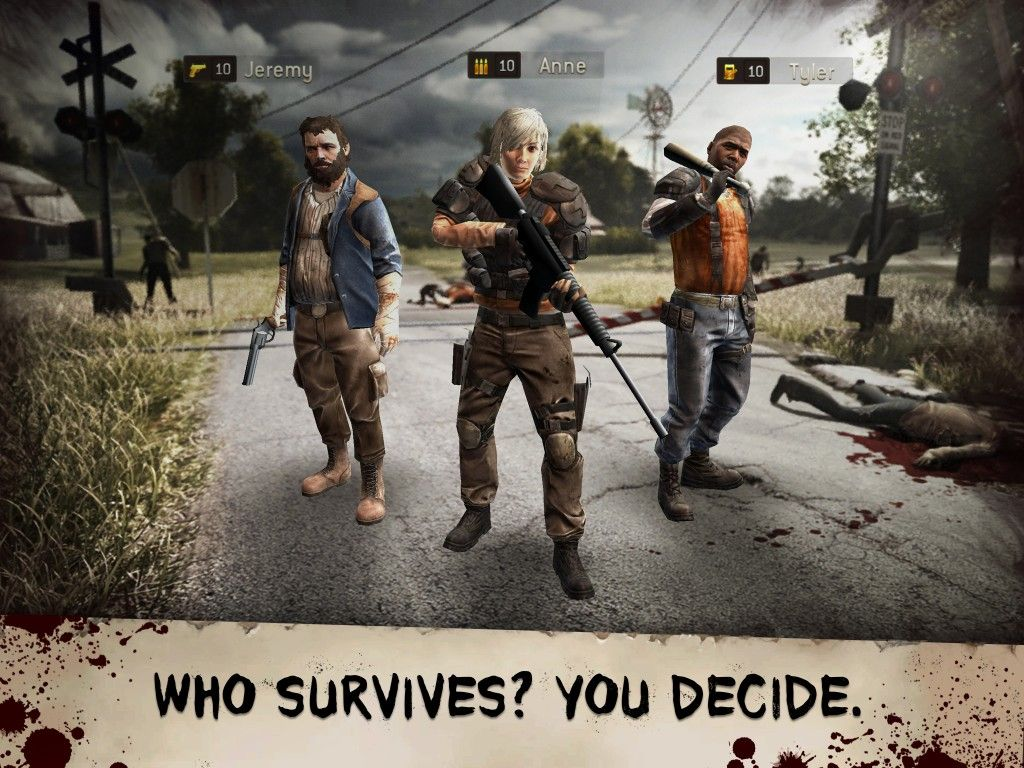 The Walking Dead: No Man's Land for IOS Free   Addicting Games FHD - Free Games, Top Paid Games and Cheats Free Download