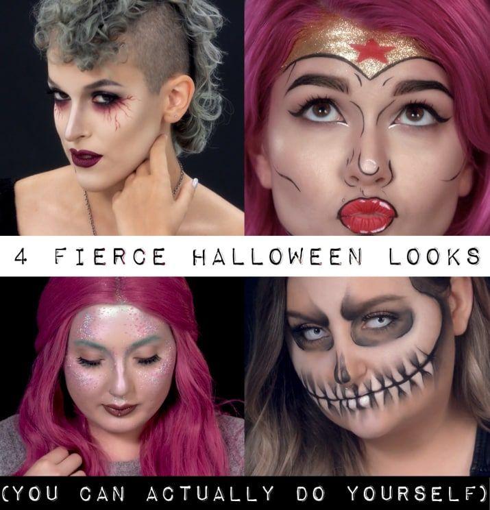 4 gorgeous halloween looks you can actually do yourself makeup 4 gorgeous halloween looks you can actually do yourself solutioingenieria Gallery