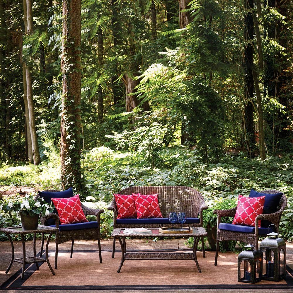 Garden Treasures Spruce Hills 5Piece Patio Conversation