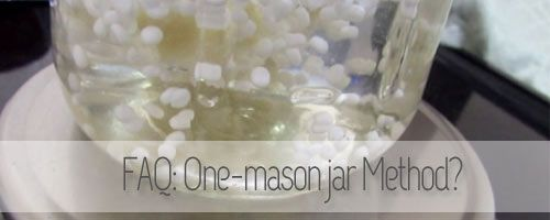 What is: One-mason jar method  http://www.curlytea.com/hair/one-masonjar-method.html #naturalhair #curlyhair #teamnatural