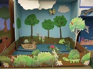 Shoebox Diorama School Project Shoebox Diorama Examples Animal