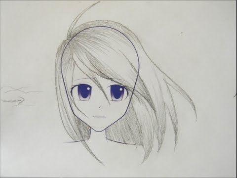 Manga Hair Tutorials Youtube In 2020 Manga Drawing Drawings Anime Drawings