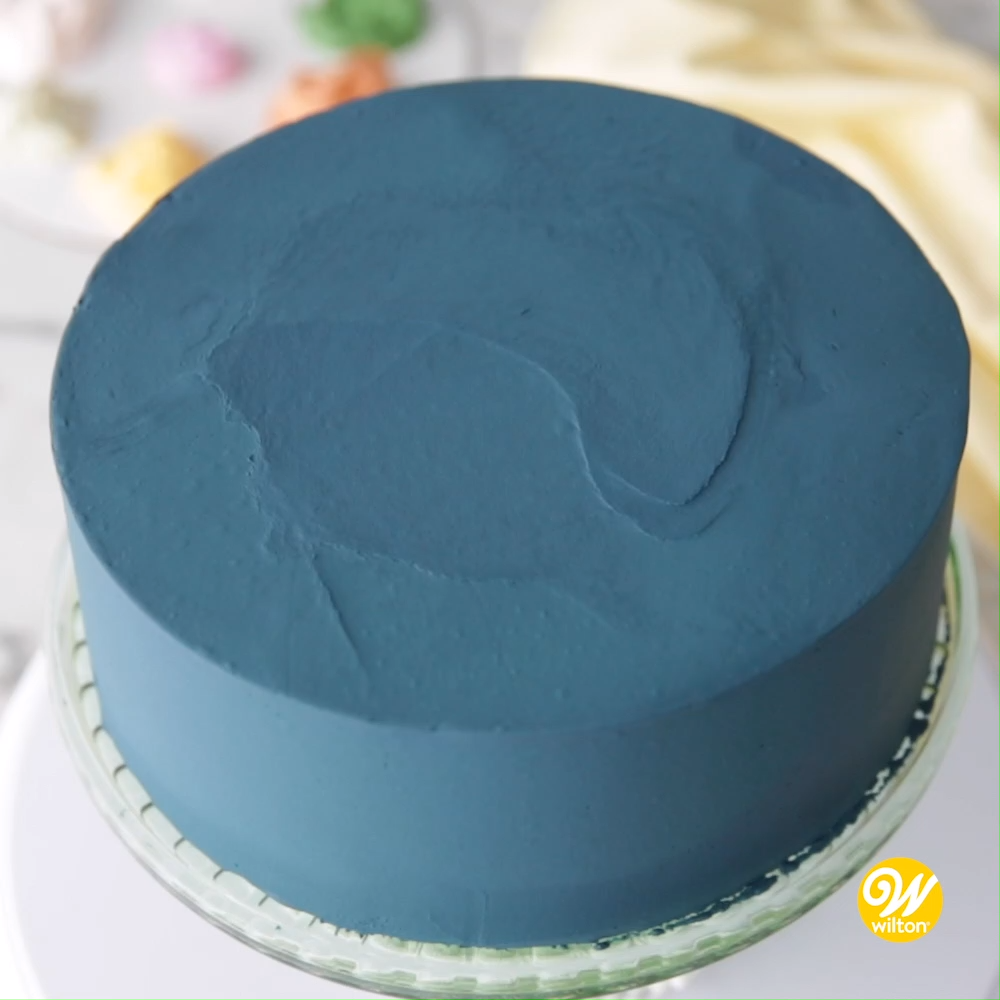 How to Make a Buttercream Flower Painted Cake