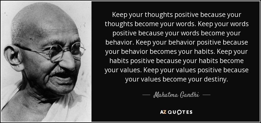 Positive Quotes By Famous Authors Entrancing Keep Your Thoughts Positive Because Your Thoughts Become Your