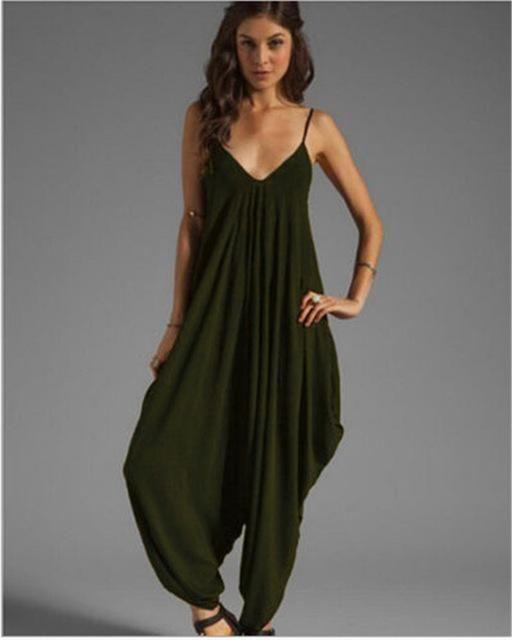 75fe09c4d877 2017 Long Bodysuit Fashion Summer Women s Harem Romper Jumpsuit Combinaison  Femme Elegant Coveralls Playsuit Macacao Clothing