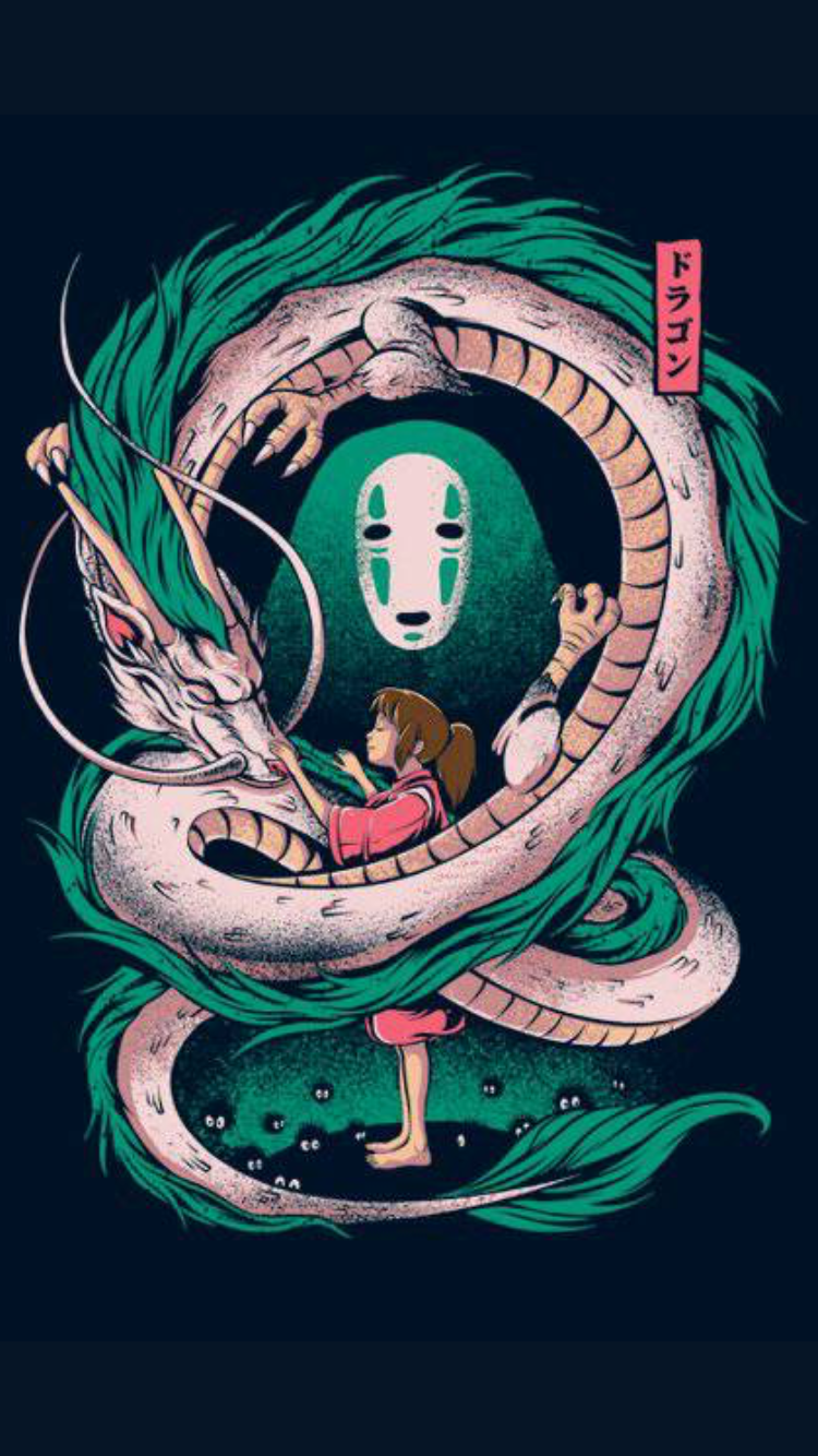 Spirited Away hayaomiyazaki studioghibli sentochihiro