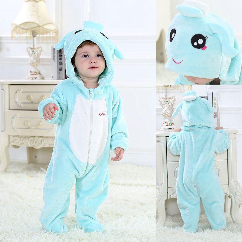 69c40248cf72 Aquarius Baby Blue Zodiac Onesies Toddler Pajamas Kigurumi Costume ...