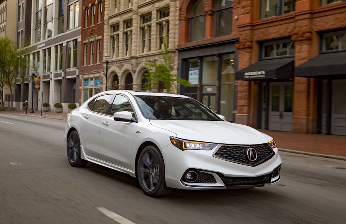 2018 Acura Tlx A Spec Review In 2020 Acura Tlx Acura Car