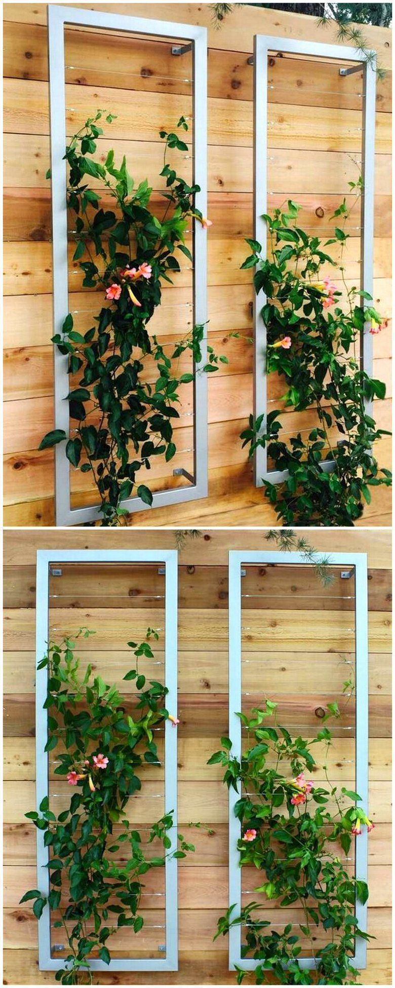 This Is One Of The Best Trellis Design With A Silvery Finish Color