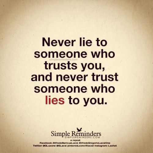 Never Believe Anyone