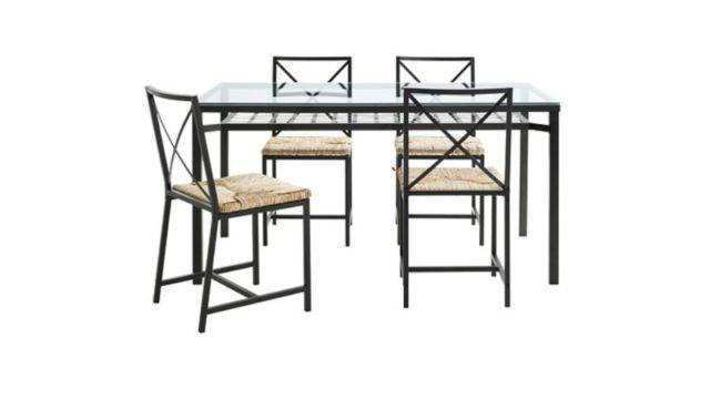 Table + 4 Chaises/Chairs - IKEA GRANAS | mobilier de salle à manger ...