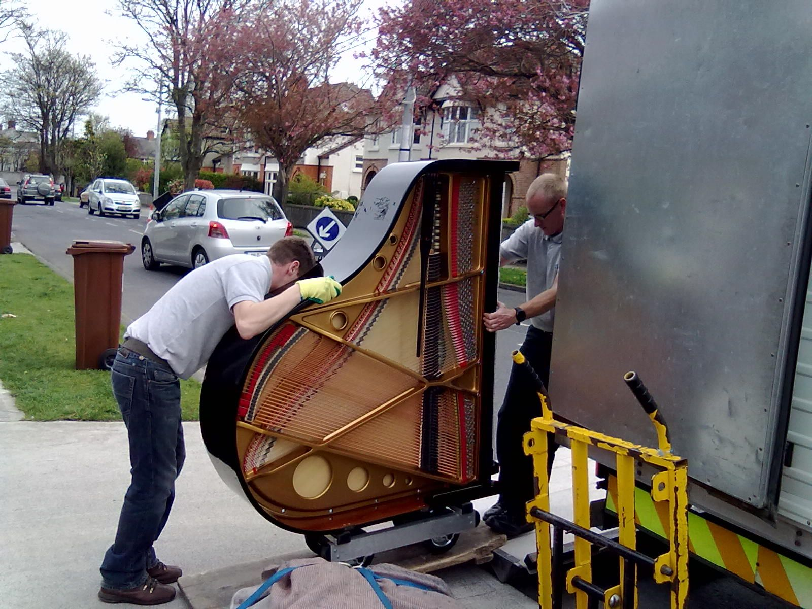 french country baby grand piano How to Move a Baby Grand