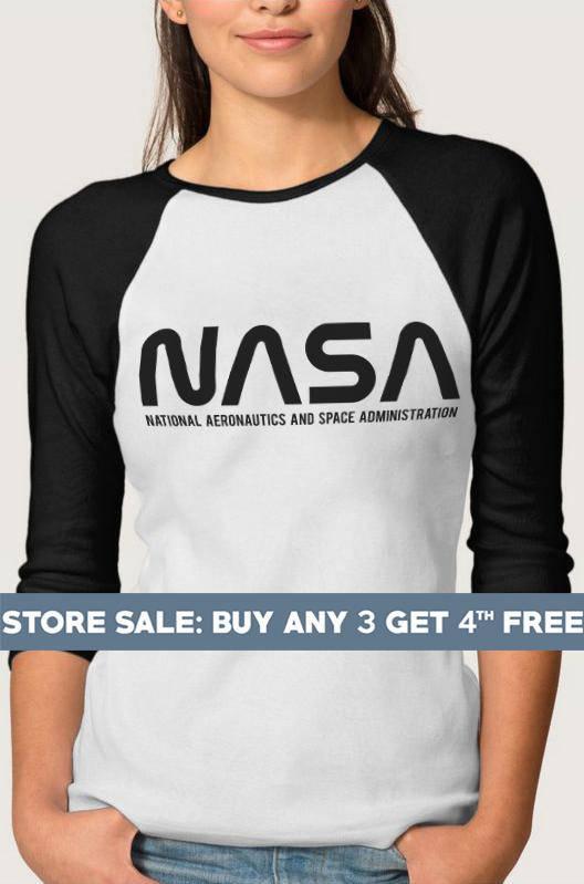 bf38e408 Nasa Tshirts. Nasa Logo Shirts Funny Graphic Tees Teen Gifts Ideas Cool  Shirts Women Tees Ladies Shi