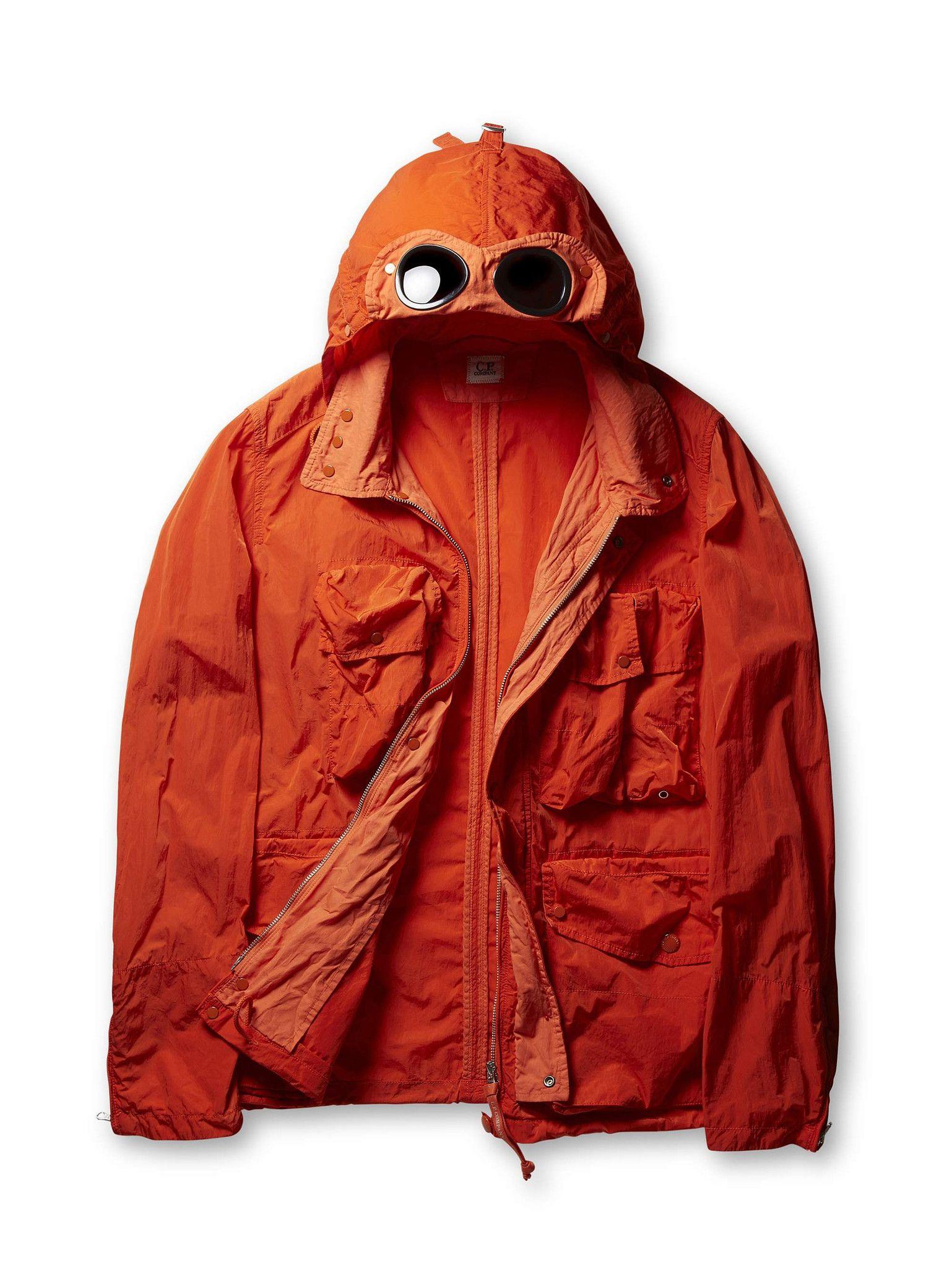 bddac7355 C.P. Company - C.P. Company Frosted Nylon Cotton Goggle Hood Field ...