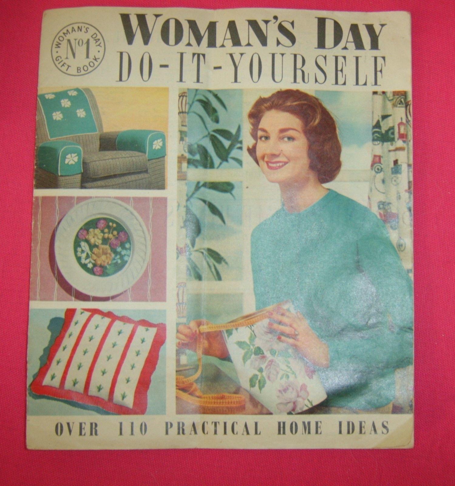 Original 1958 womans day do it yourself gift book ebay vintage original 1958 womans day do it yourself gift book ebay solutioingenieria Choice Image