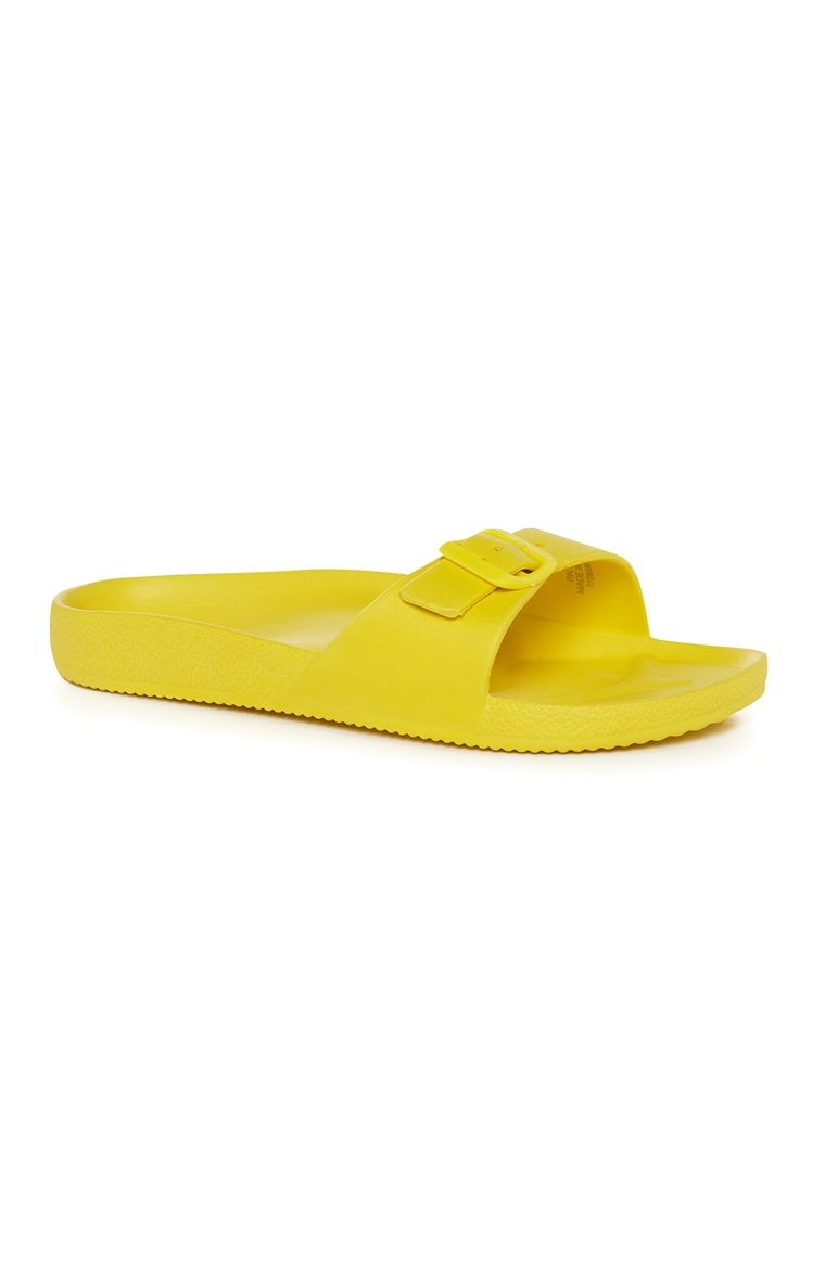 Primark - Gele slippers | New shoes