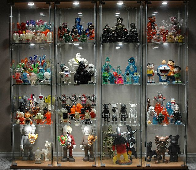 Detolf With Led Lights X4 Diy Display Displaying Collections