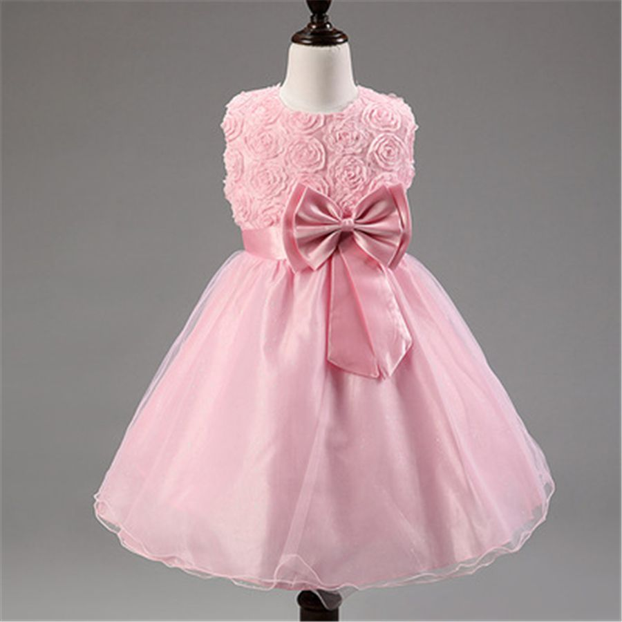 Click to buy ucuc flower girls dresses for party and wedding dress