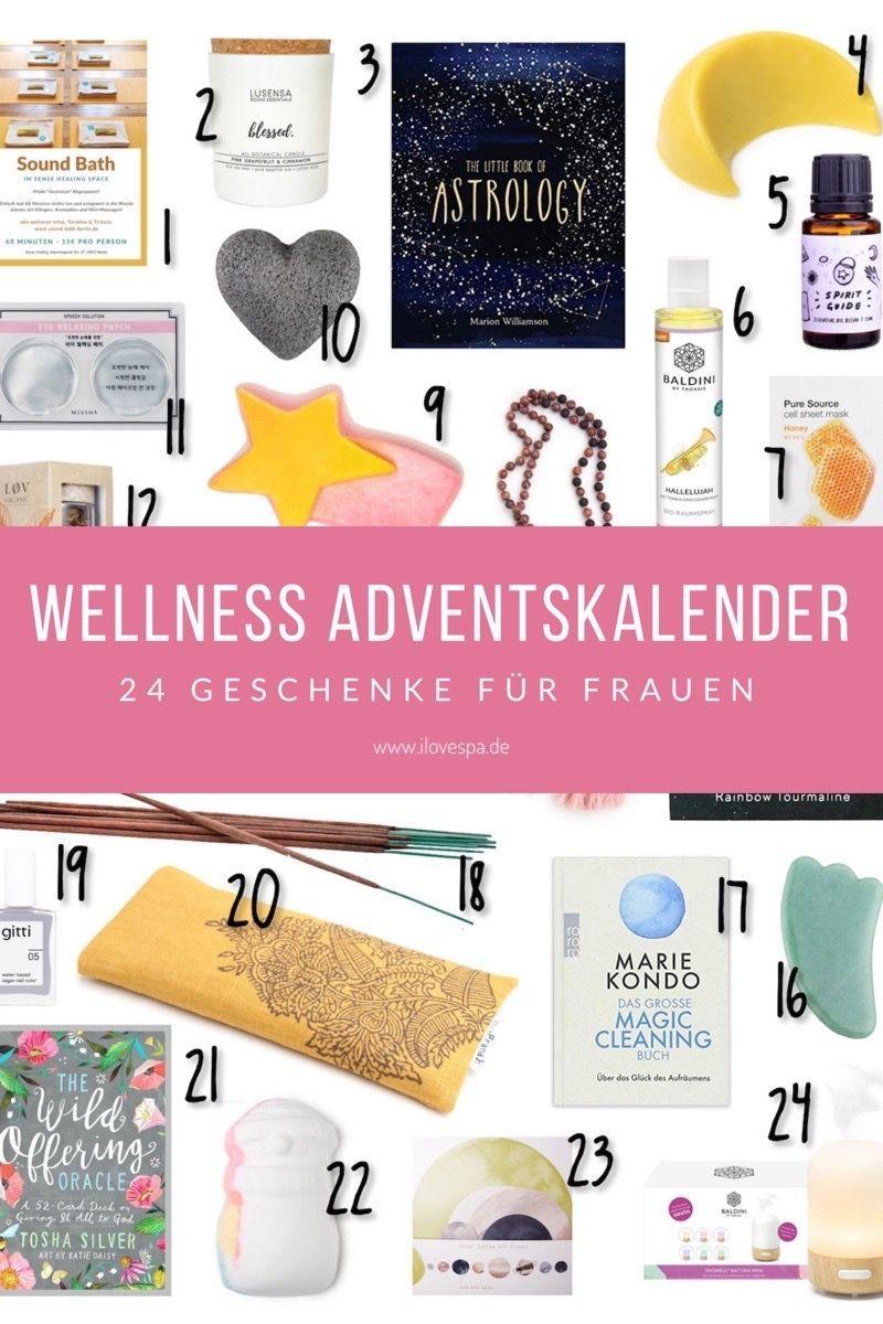 Wellness Adventskalender 2019 Frauen Wellness