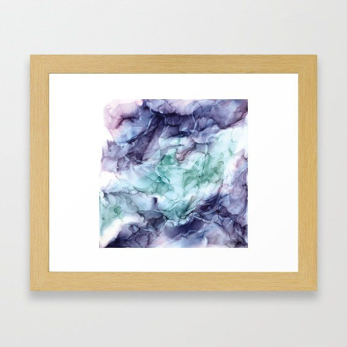 GROWTH- ABSTRACT BOTANICAL FLUID ART PAINTING FRAMED ART PRINT -  GROWTH- ABSTRACT BOTANICAL FLUID ART PAINTING FRAMED ART PRINT  #dormroomdecor #artprints | Best collection of spring, floral, flower, watercolor, abstract, green, garden, modern, pink, black and white, pictures, vintage and unique framed art prints for an aesthetic decor.  Great for campus living in the bedroom, living room or college dorm room. Famed, black, walnut,