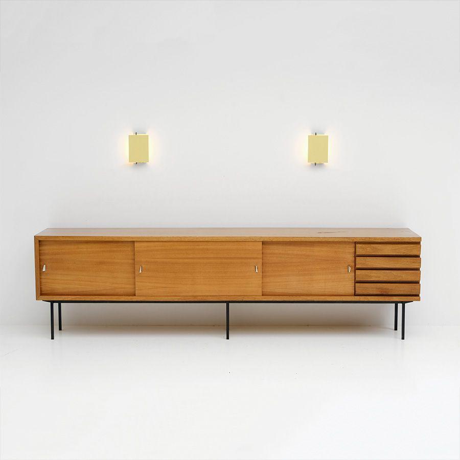 Rare Jos De Mey Sideboard For Luxus 1950s Storage Credenza  # Muebles Lola Mora