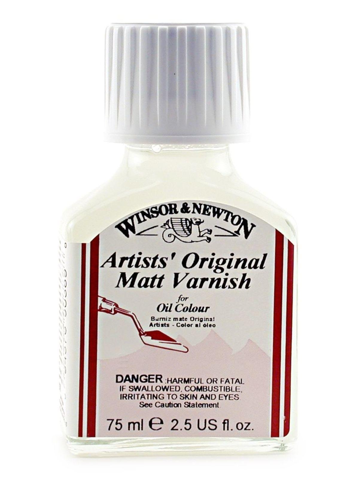 Oil Painting Supplies Oil Matt Varnish By Winsor Newton