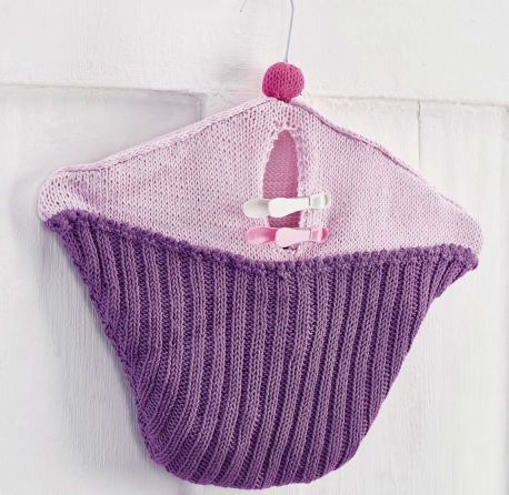 Httpsletsknitfree Knitting Patternscake Peg Bag