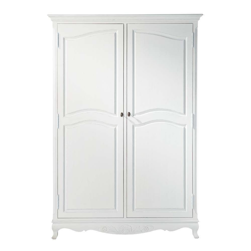 Guardarropa De Paulonia Blanca Affordable Furniture Furniture Armoire