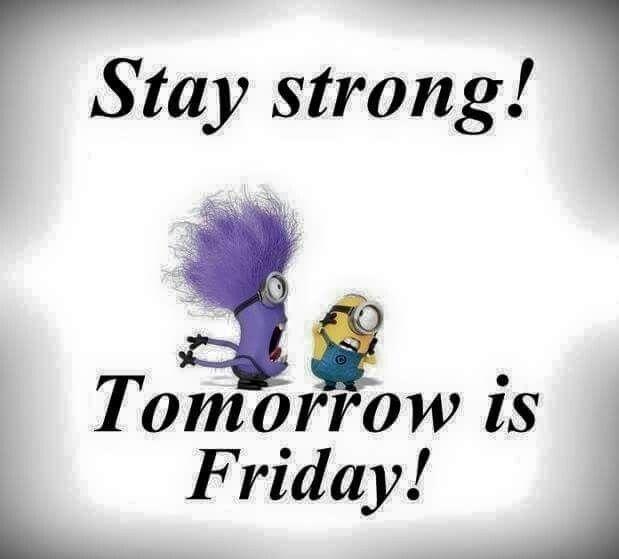 Thank God Tomorrow Is Friday Tomorrow Is Friday Thank God Lol
