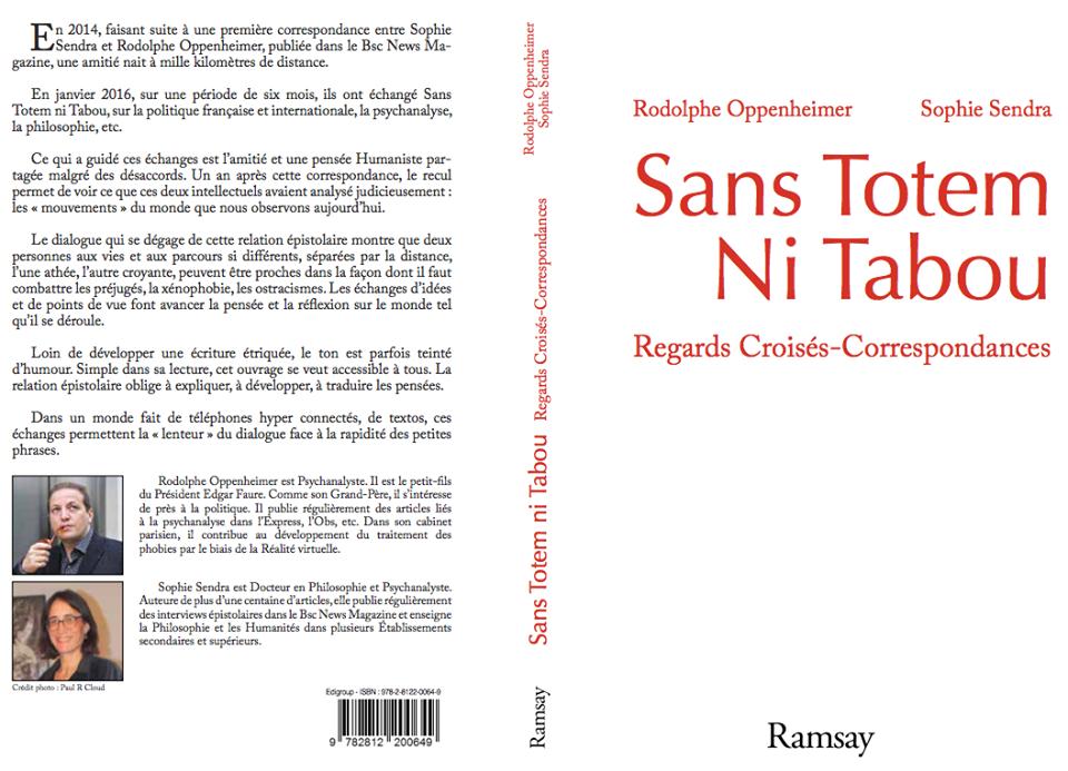 Sans totem ni tabou - Regards croisés, Correspondances