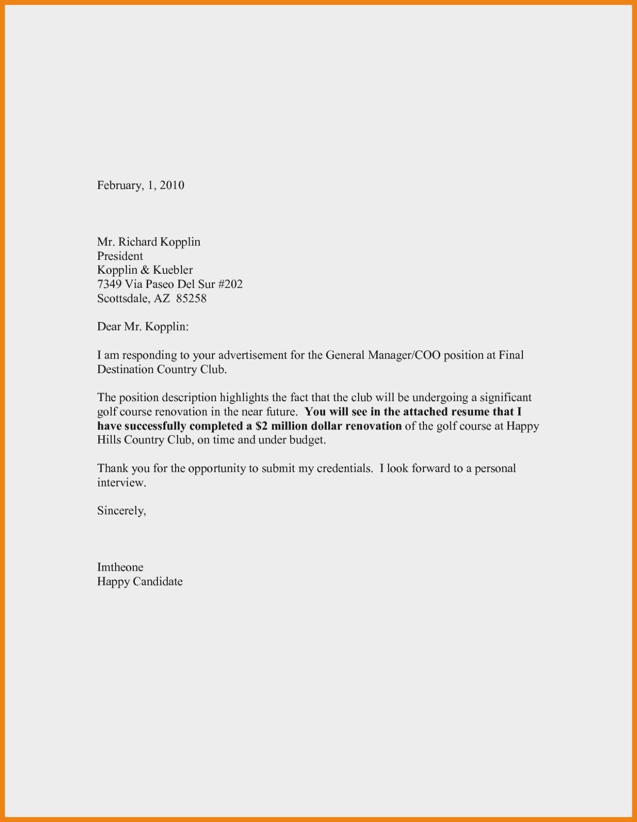 26 Cover Letter Sample Pdf Email Cover Letter Job Cover Letter